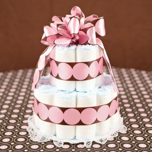 real diaper cake