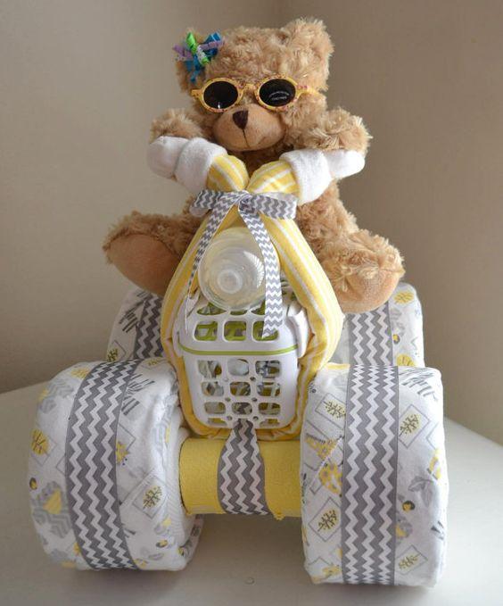 female diaper cake