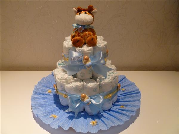 youtube diaper cake