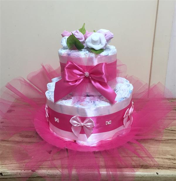 diaper cake decoration