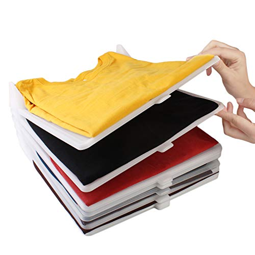 KOARBI Organizer of Shirts, Clothes, Wardrobe.  Resistant and Recyclable.  Anti-humidity and Anti-wrinkle.  Organize shirts, drawers, shelves, cabinets.  Pack of 10