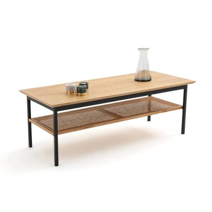 WASKA rectangular low table