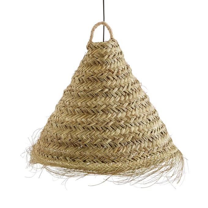 WESOKO Palm Leaf Ceiling Lamp