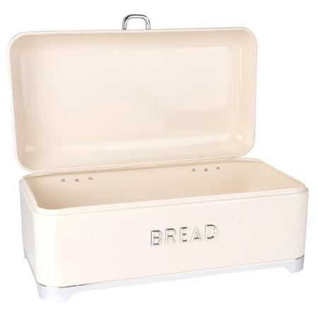 Vintage Ivory Metal Bread Bin 1000 3 30 196625 2