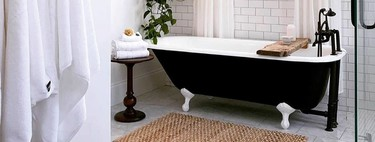 Seven complements and accessories that you can include in the bathroom, even if they are not designed for the bathroom