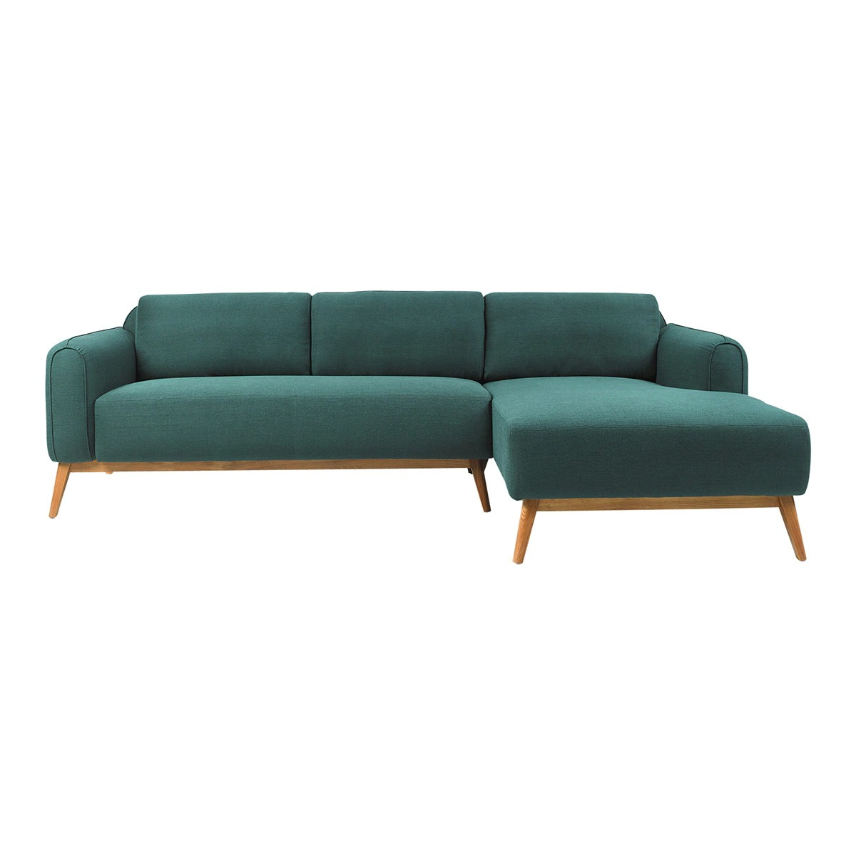 Sofa with right chaise longue Green Room