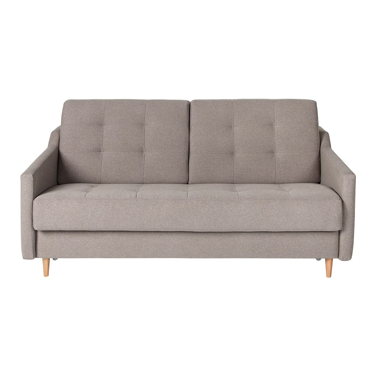 Neris 3 Seater Upholstered Sofa Bed
