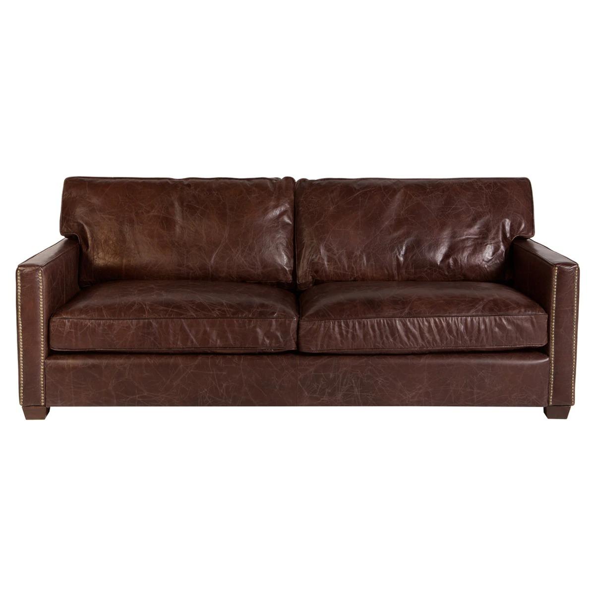 Bristol 3 Seater Leather Sofa