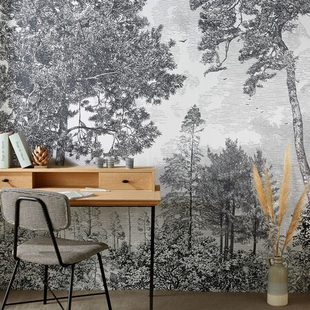 Woven Wallpaper With Tree Pattern 240x300 1000 8 15 201407 1