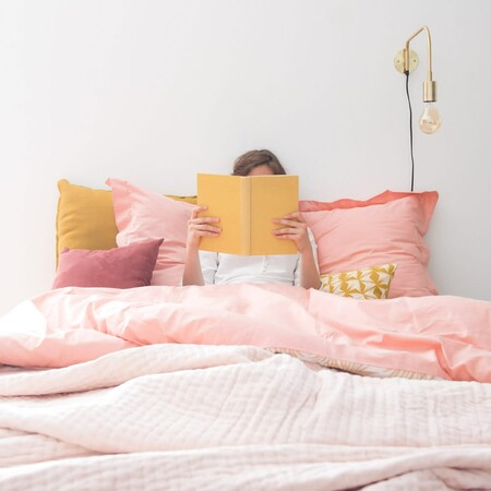 Pink Velvet Pique Bedspread 240x260 Cm 1000 5 20 167710 9