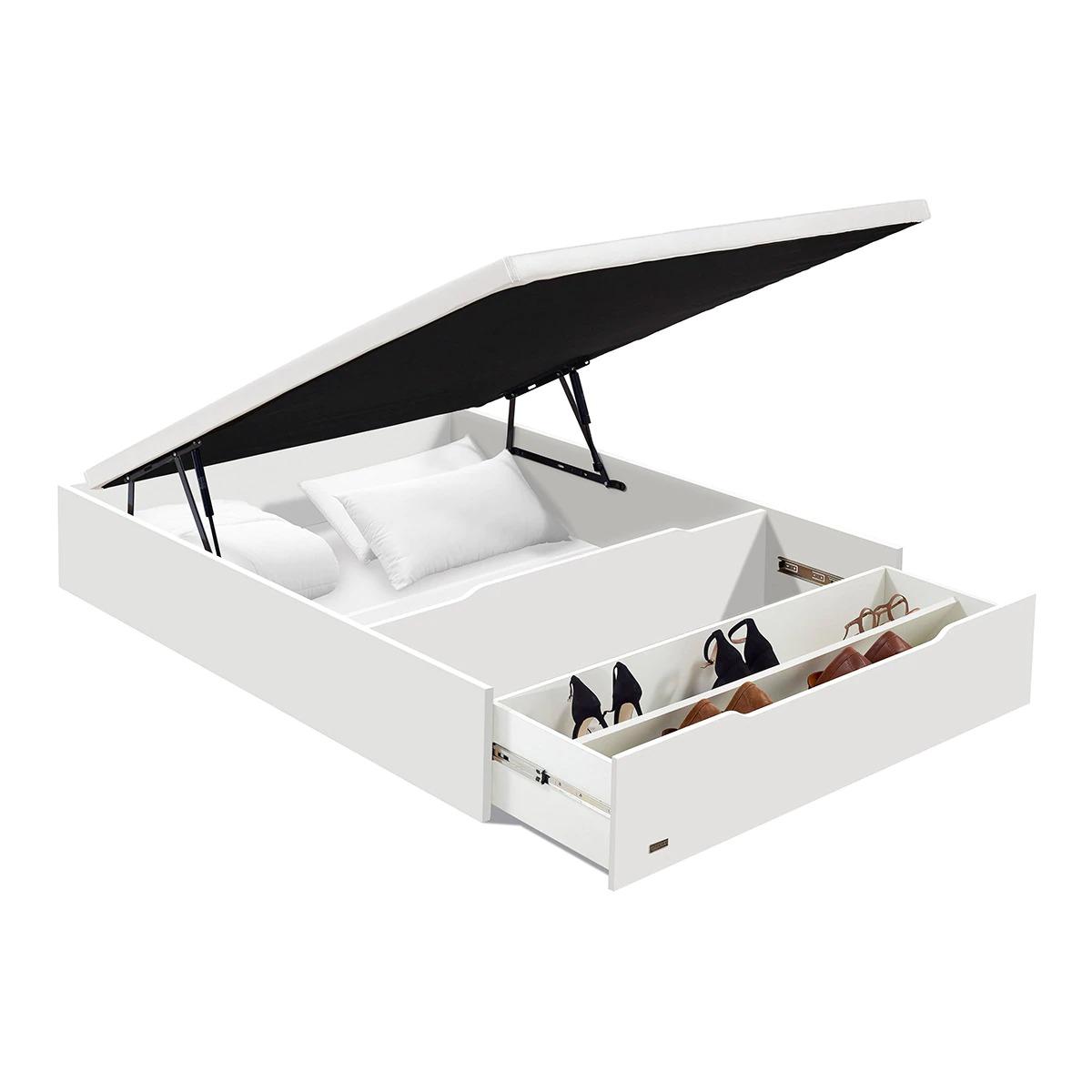 FLEX Folding sofa with Flex shoe rack