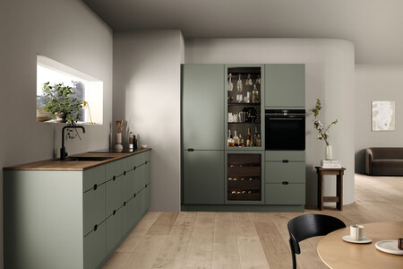 Kvik Kitchen Ombra Green Halftotal