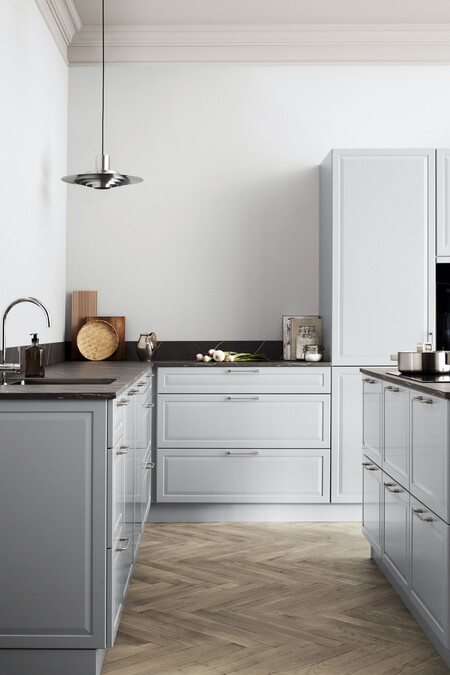 Kvik Kitchen Pavia Pure Gray Half Total