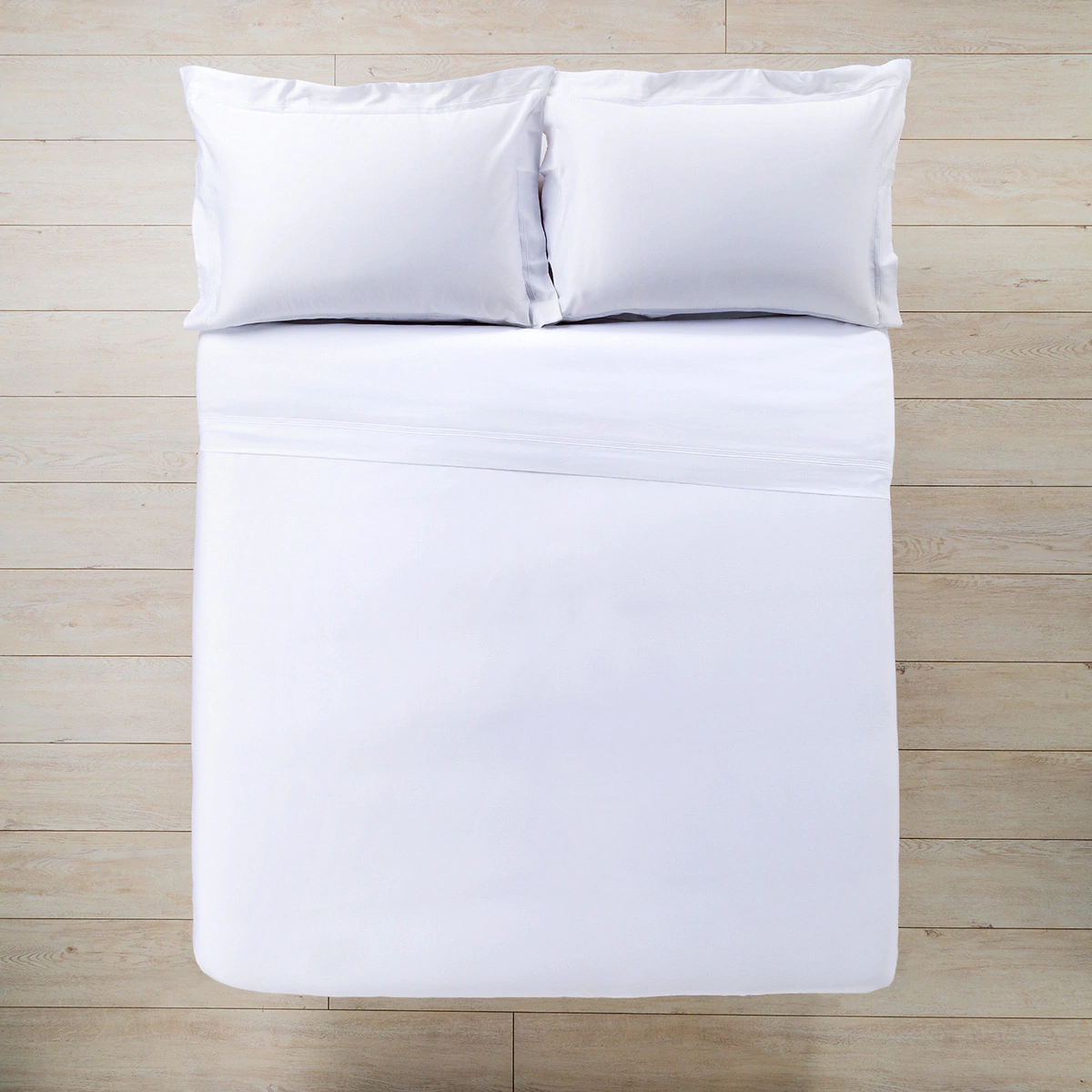 Satin duvet cover