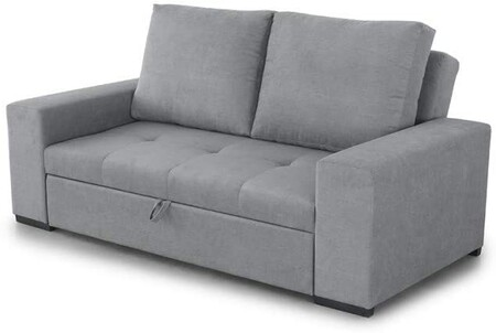 Three-seater sofa bed