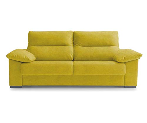 KITKAY ENA Sofa Bed Italian Opening for Bed 140x190 cm - Troya Yellow