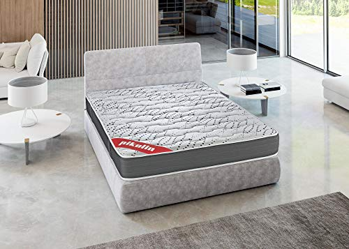 PIKOLIN Memory foam mattress HR 135x190 High firmness, Reversible, maximum Quality, Height 25 cm - Iliria mattresses