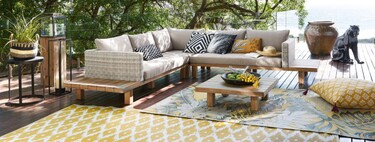 Eleven stylish rugs from Maisons du Monde for both indoor and outdoor use