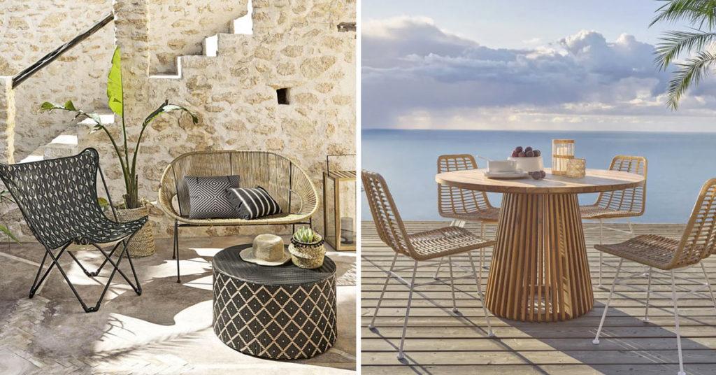 Maisons du Monde 2021 garden furniture