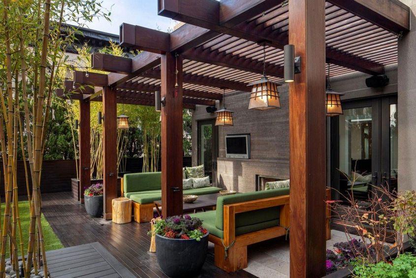 A Zen terrace