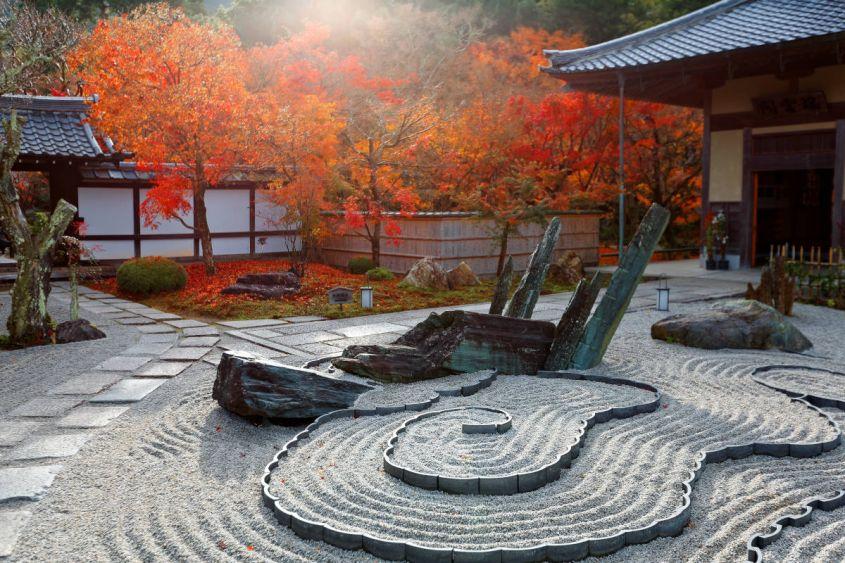 # DEVA_ALT_TEXT # Japanese Zen garden