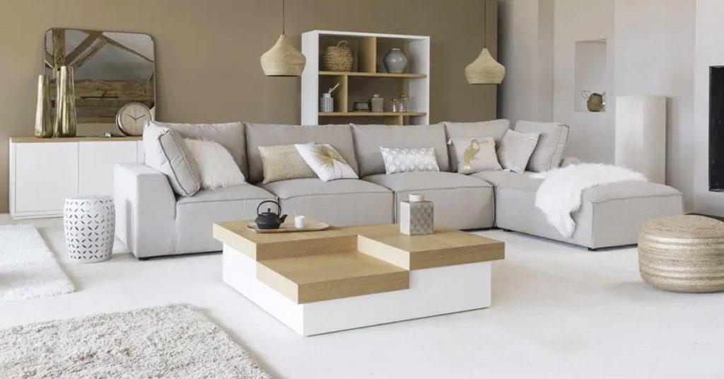 modern living room Maisons du Monde