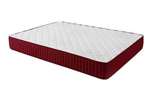 Dormio Zafiro - Memory foam mattress, White, 135 x 190 x 21 cm