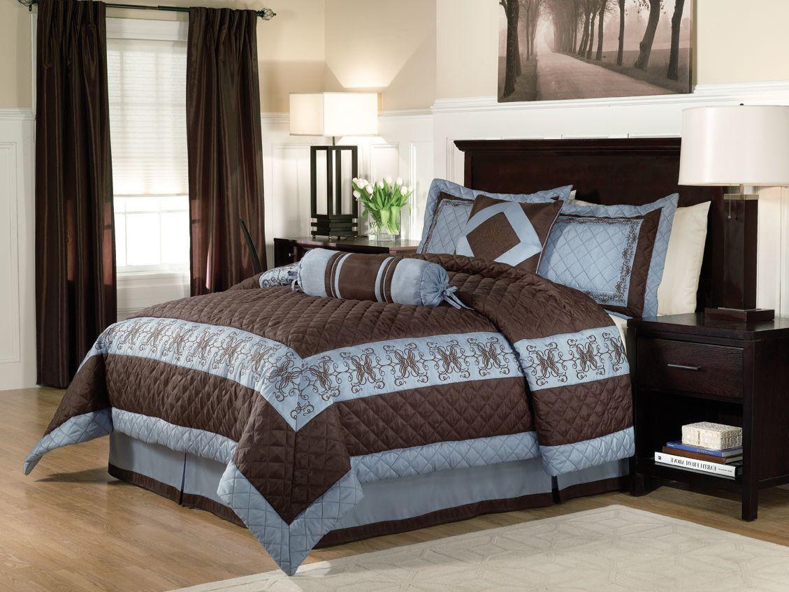 bedroom-beige-matching-brown