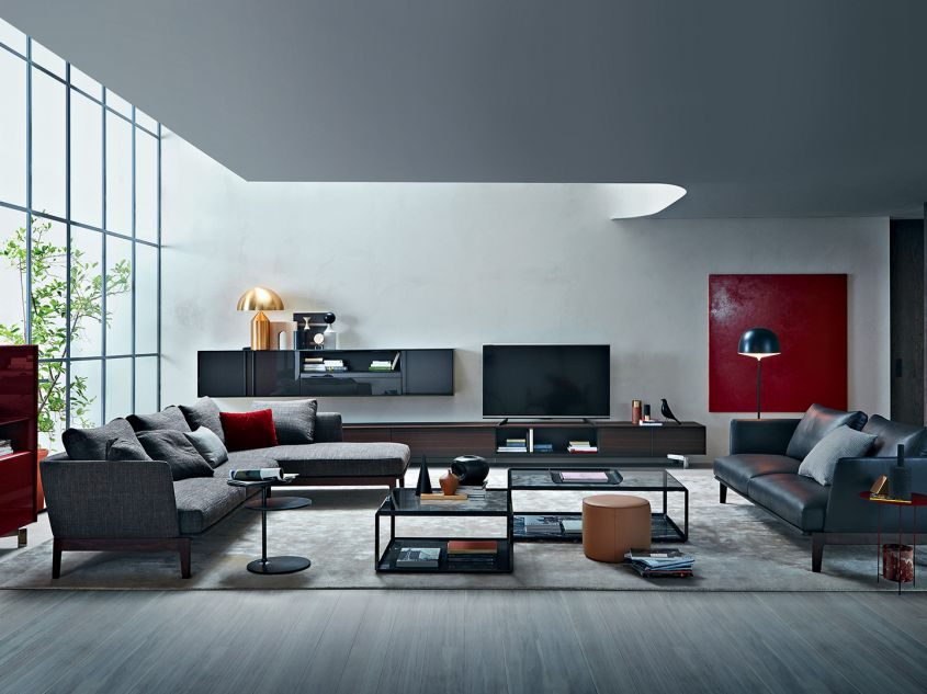 wall units for the modern living room