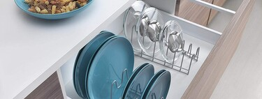 Order in the kitchen: how to organize pans, pots, trays, tuppers ... and their lids (yes: you can)