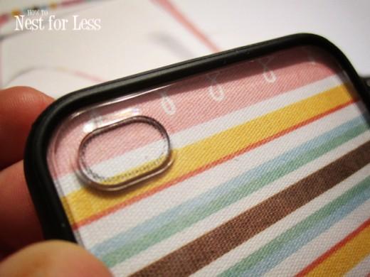 DIY mobile phone cover
