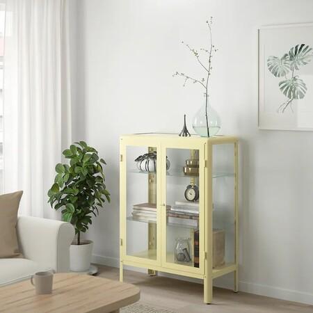 Fabrikor Light Yellow Display Cabinet 1