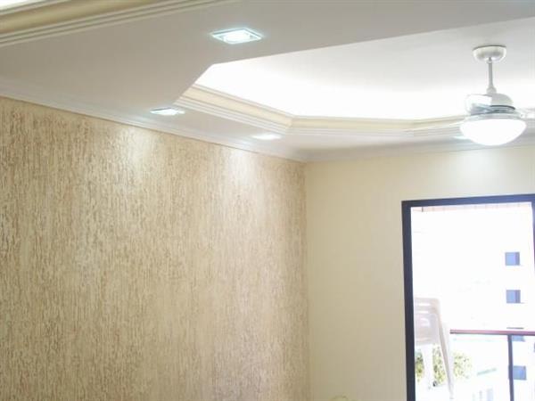 Designed Living Room Texture