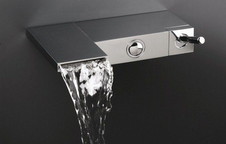 Cristina Rubinetterie, waterfall tub faucet