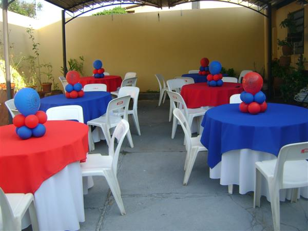 Spider Man Guest Table