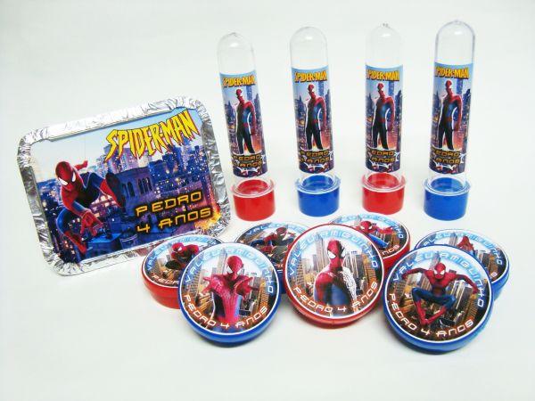 Spiderman party kit