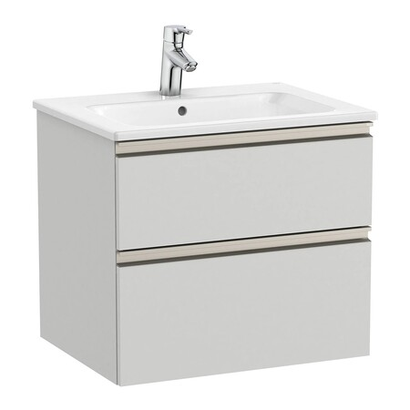 ROCA Bathroom cabinet with 2 drawers and basin The Gap Roca
