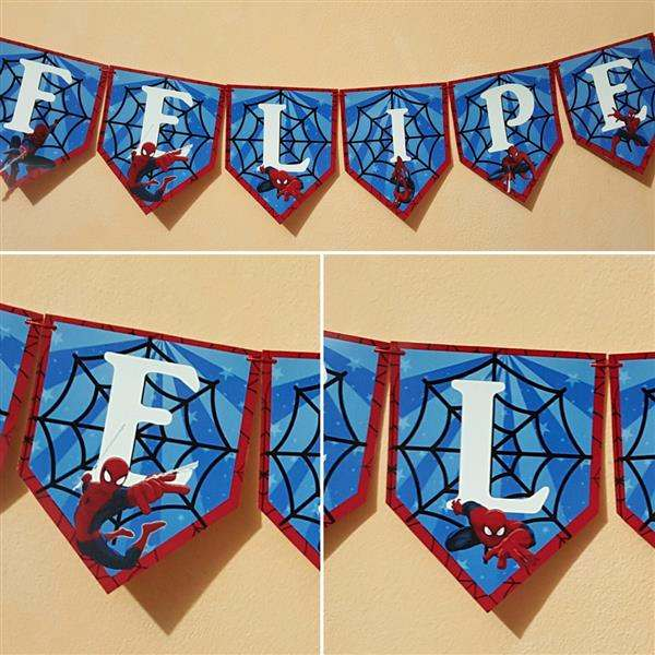 Spiderman pennants